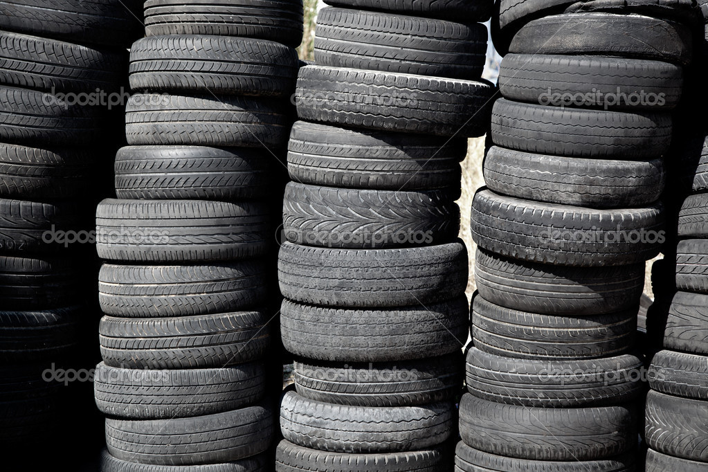 car tires pneus stacked in rows stock photo lunamarina 7003940. Black Bedroom Furniture Sets. Home Design Ideas