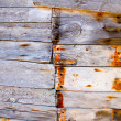 Aged wheatered wood texture pattern — Stock fotografie