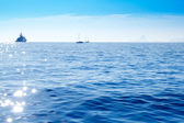 Deep blue mediterranean sea — Stock Photo