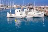 Formentera traditional llaut fisherboats — Stock Photo