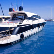 Luxury yachts in Formentera marina — Stock Photo #7320355