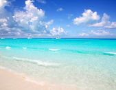Illetes Formentera East beach tropical turquoise — Stock Photo