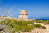 Torre des Garrovet in Babaria Cape Formentera — Stock Photo
