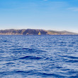 Els Freus of Ibiza view from Mediterranean sea — Foto Stock