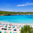 Ibiza Portinatx turquoise beach paradise island — Stock Photo #7576432