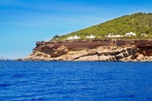 Ibiza Sa Talaia coast in Balearic islands — Stock Photo