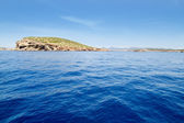 Ibiza Illa del Bosque island in San Antonio — Stock Photo