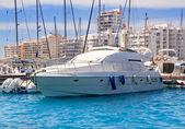 Ibiza San Antonio de Portmany marina — Stock Photo