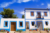Ibiza white house in Sant Miquel del Balansat — Stock Photo
