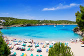 Ibiza Portinatx turquoise beach paradise island — Stock Photo