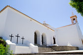Ibiza Sant Joan Labritja San Juan church — Stock Photo