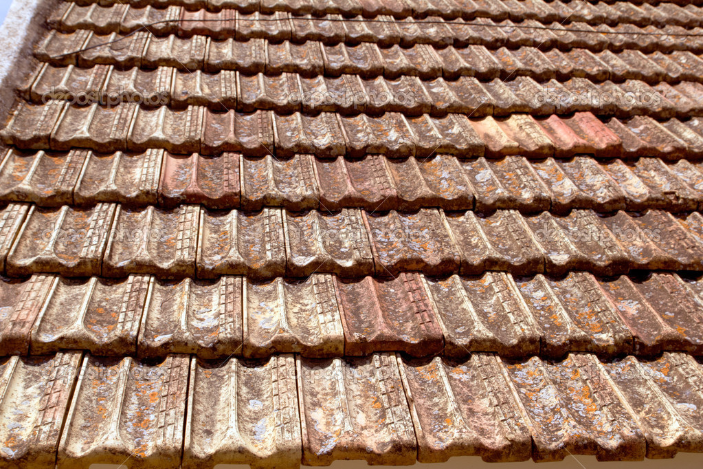Flat roof flat clay roof tiles for Flat clay tile roof
