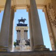 Alfonso XII monument Madrid in Retiro park — Stock Photo