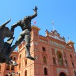 Royalty-Free Stock Photo: Madrid bullring Las Ventas Plaza Monumental