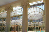 Madrid Palacio de Cristal in Retiro Park — Stock Photo