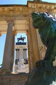 Alfonso XII monument Madrid in Retiro park — Stock Photo