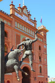 Madrid bullring Las Ventas Plaza Monumental — Stock Photo