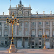 Madrid Palacio de Oriente monument - Stock Photo