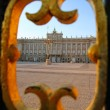 Madrid Palacio de Oriente monument — Stock Photo