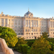 Madrid Palacio de Oriente monument — Stock Photo #7881276