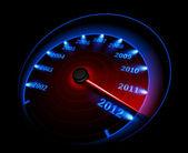 Speedometer. Vector illustration — Stock Vector