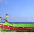 Fishermans boat — Stock Photo