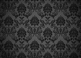 Dark baroque wallpaper — Stock Vector