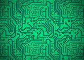 Placa de circuito impresso — Vetor de Stock
