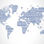 World Of Social Network 2 — Stock Vector