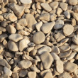 Pebbles on the beach — Stock Photo