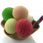 Ice cream cones — Stock Photo #7259321