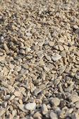 在海滩上的小石子 — 图库照片