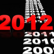 Stock Photo: New Year 2012