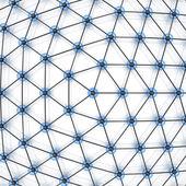 Astratto di rete globale. rendering 3d — Foto Stock
