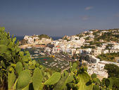 Aerial View from Ponza, Italy — Stock Photo