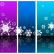 Winter Abstract background — Stock Vector