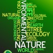 Ecology - environmental poster  — Stock Vector