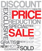 Sale discount poster — Stock Vector