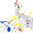 tema musical — Vector de stock  #7020964