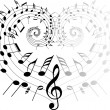 Music theme — Stock Vector