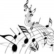 Stock Vector: Music theme