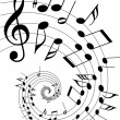 Music theme - Stock Vector