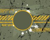 Ordu, Donanma, grunge arka plan — Stok Vektör