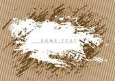 Brown grunge background — Stock Vector