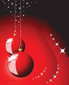 Christmas bulbs — Stock Vector