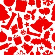 Seamless vector christmas pattern — Stock Vector