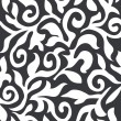 Vector de stock : Black and white vector texture