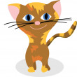 Nice kitty — Stock Vector