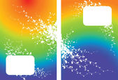 Rainbow bakgrund — Stockvektor