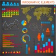 Vector set of Infographic elements — Stockvektor